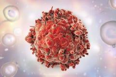 Vit blodcell för leukemi Arkivfoton