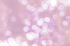 Vit bokeh på rosa skugga Royaltyfria Foton