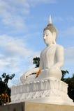 Vit Buddha Arkivbilder