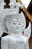 Vit Buddha Royaltyfria Bilder