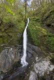 Vit dam Waterfall Arkivbild
