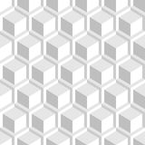Vit dekorativ 3d textur - sömlös bakgrund Royaltyfri Bild