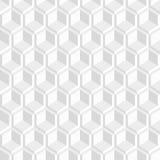 Vit dekorativ 3d textur - sömlös bakgrund Arkivfoto