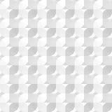 Vit dekorativ textur Royaltyfria Bilder
