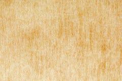 Vit dekorativt tyg för guling och texturerar upp bakgrund, slut Royaltyfria Bilder