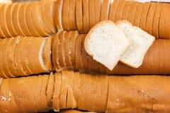 Vit eller SMÖRGÅS för bröd liten och nätt Arkivfoton