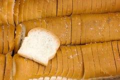 Vit eller SMÖRGÅS för bröd liten och nätt Arkivfoto