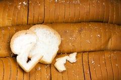 Vit eller SMÖRGÅS för bröd liten och nätt Arkivbilder