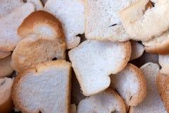 Vit eller SMÖRGÅS för bröd liten och nätt Royaltyfri Foto