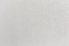 Vit färg för tom betongvägg för texturbakgrund Royaltyfri Fotografi
