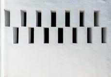 Vit färg för tom betongvägg för texturbakgrund Royaltyfri Foto