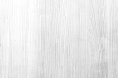 Vit färg för Wood textur Arkivbilder