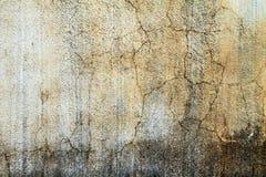 Vit färgbetong för gammal vägg royaltyfri bild