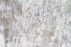 Vit färgbetong för gammal vägg Arkivbild