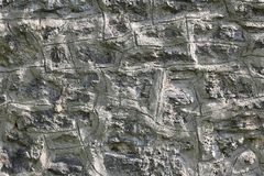 Vit för bakgrund för textur för stenvägg Fotografering för Bildbyråer