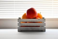 Vit för färg för askfrukt wood Royaltyfria Bilder