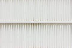 Vit för luftfilter. Arkivfoton