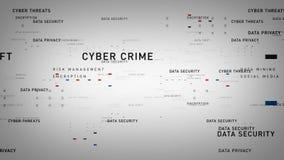 Vit för nyckelorddatasäkerhet royaltyfri illustrationer
