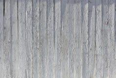 Vit gammal målad träbakgrundstextur med vertikal parall Royaltyfri Foto