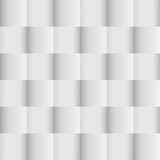 Vit geometrisk textur Arkivfoton