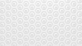 Vit geometrisk textur Arkivbilder