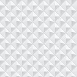Vit geometrisk textur - sömlös bakgrund Royaltyfri Foto