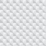 Vit geometrisk textur - sömlös bakgrund Royaltyfri Fotografi