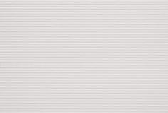 Vit gjord randig pappers- textur Arkivfoto