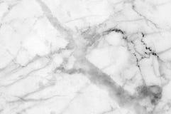 Vit grå färgmarmortextur Arkivfoto