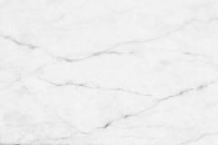 Vit (grå) marmortextur, detaljerad struktur av marmor i naturligt mönstrat för bakgrund och design Royaltyfri Foto
