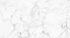 Vit (grå) marmortextur, detaljerad struktur av marmor i naturligt mönstrat för bakgrund och design Royaltyfri Fotografi
