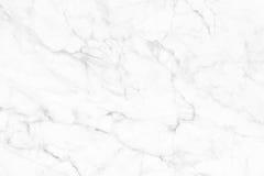 Vit (grå) marmortextur, detaljerad struktur av marmor i naturligt mönstrat för bakgrund och design Arkivfoton