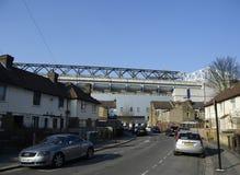 Vit Hart Lane - Tottenham Hotspur stadion Royaltyfri Foto