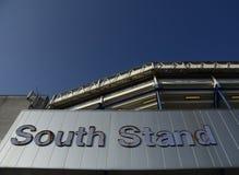 Vit Hart Lane - Tottenham Hotspur stadion Royaltyfri Fotografi