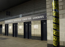 Vit Hart Lane - Tottenham Hotspur stadion arkivfoton