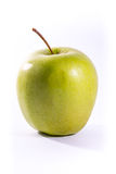 Vit isolat farmorSmith Green Bright Apple Fruit för sund mat Royaltyfri Fotografi