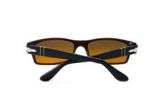 vit isolerad solglasögon Fotografering för Bildbyråer