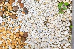 Vit kiselstenbakgrundstextur fotografering för bildbyråer