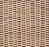 Vit korgtextur, abstrakt bakgrund Royaltyfri Foto