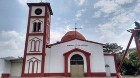 Vit kyrkliga San Cayetano royaltyfri fotografi