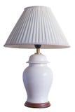 Vit lampa Fotografering för Bildbyråer