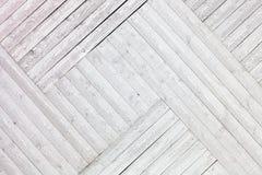 Vit lantlig träplankabakgrund Royaltyfria Bilder