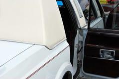 Vit limo royaltyfri bild