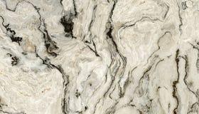 Vit lockig marmor Royaltyfria Foton