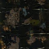 Vit målad texturerad bakgrund med borsteslaglängder Arkivfoto