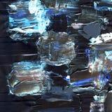 Vit målad texturerad bakgrund med borsteslaglängder Royaltyfria Foton