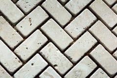 Vit marmor från rektangel royaltyfria bilder