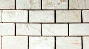 Vit marmor från rektangel royaltyfri foto