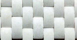 Vit marmor från rektangel arkivfoto
