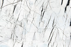 Vit marmor mönstrad texturbakgrund Royaltyfri Foto